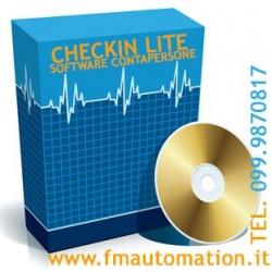 Software Statistico Contapersone CHECKIN LITE versione semplificata