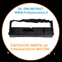Cartuccia di ricambio originale per timbracartellino max 1500 e max 1100