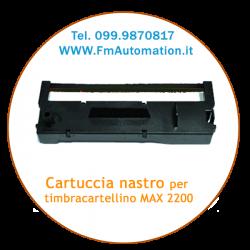 Cartuccia nastro per MAX 2200