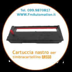 Cartuccia nastro per timbracartellino cassetta nastro SEIKO QR 550 - QR 105s - QR 120