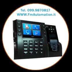 Terminale Lettore di Badge RF-ID con interfaccia di Rete LAN, USB Host, WebSetup