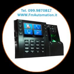 """i-560BioMF dispositivo di rilevazione delle presenze con display TFT a colori da 3,5""""."""