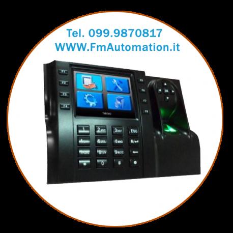 """i-560BioMF dispositivo di rilevazione delle presenze biometrico con display TFT a colori da 3,5""""."""