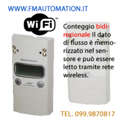 Contapersone Elettronico SMARTCHECK Standalone KIT CWR Bidirezionale wireless