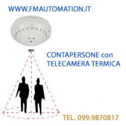 TELECAMERA TERMICA per il  Controllo accessi