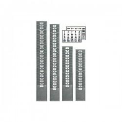 Casellario in Metallo 15 posti per schede 105